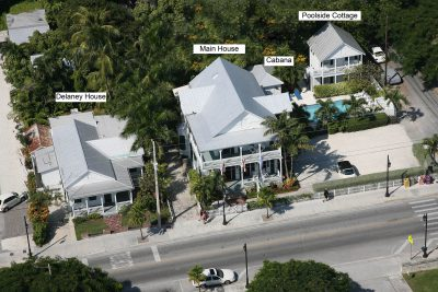 Conch House Aerial View